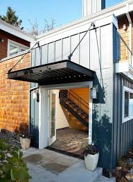 Awning Over Front Door Applying Metal Awnings Above The Window Kristenkingfreelancing Com