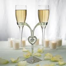wedding glasses glass flutes with silver stand wedding chagne glasses events