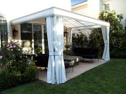 outdoor curtains drapes and shades superior awning