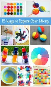 15 ways kids explore color mixing buggy buddy