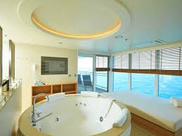 Whirlpool Shower Bath Suites The Top Luxury Cruise Ship Suite Bathrooms Reasons To Cruise