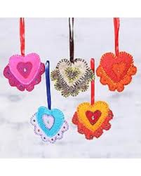 here s a great price on wool felt ornaments heartwarming