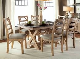 Dining Room Set Steve Silver Wilson 7 Piece 60x42 Dining Room Set In North Shore