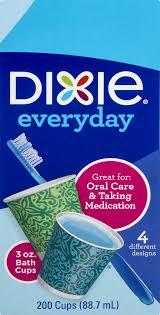 dixie everyday bath cups 3 oz 200 ct walmart com