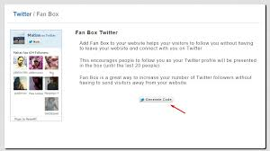 membuat widget twitter di website cara membuat widget twitter fan follower box blogspot devaradise
