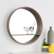 wall mirror with shelf kmart