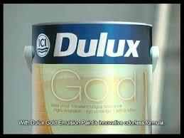 dulux gold emulsion paint cm youtube