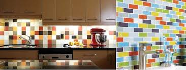 kitchen backsplash colors sumptuous design ideas multi color backsplash tile amazing