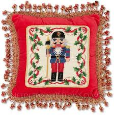 christmas needlepoint needlepointpillows the 1 dealer worldwide for high end