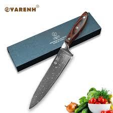 meilleur couteau de cuisine yarenh 8 meilleur chef couteau avec couleur manche en bois japonais