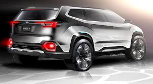 subaru viziv interior subaru subaru viziv 7 suv concept 2016 los angeles auto show