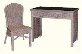 Rattan Desk Chair Wicker Vanity Wicker Desk File Cabinet