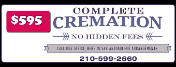 what is the cost of cremation 595 cremations san antonio