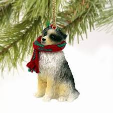 australian shepherd and cats cats and dogs australian shepherd dog christmas ornament
