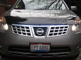 2013 silver nissan rogue plastic hood cover deflector page 2 nissan forum nissan forums