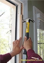 How To Install An Exterior Door Frame Front Doors Beautiful Front Door Frame Replacement Pictures