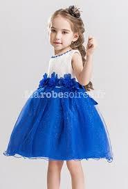 robe mariage bleu robe mariage fille jupe pailletée