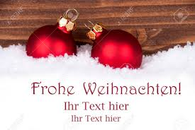 frohe weihnachten german greetings which means merry