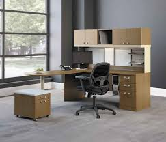 L Shaped Computer Desk With Storage Home Office Modern Home Office Design With Brown L Shaped Computer