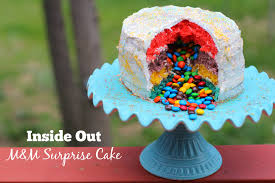 inside out cakes inside out m m cake a sweet potato pie