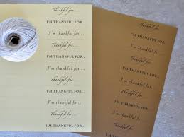 thanksgiving card sentiments make a chain of thanks for thanksgiving hgtv