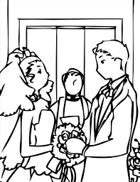fantastic top wedding color pages photo awesome coloring pages