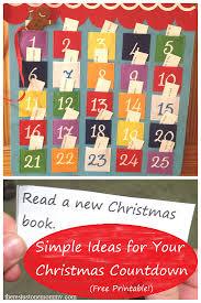 christmas countdown calendar simple christmas countdown ideas christmas countdown calendar