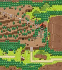 Hoenn Map Route 112 Remake By Pokemon Diamond Deviantart Com On Deviantart
