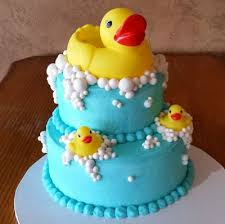 duck cake rubber duck baby shower on cake central pinteres