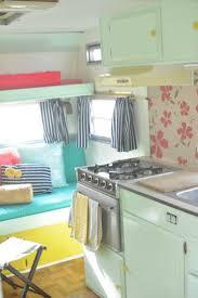 Camper Trailer Kitchen Ideas 76 Best Hit The Road Images On Pinterest Camper Interior