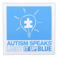 autism speaks light it up blue light it up blue window cling 6x6 clings autism speaks