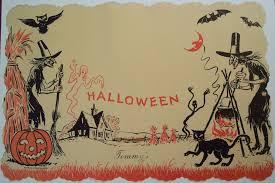 vintage halloween wallpapers group 54