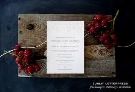 Winery Wedding Invitations Adventures In Letterpress Fine Letterpress Stationery Custom