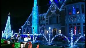 christmas lights display raises funds for wounded warrior project