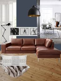 Living Room Brown Leather Sofa Navy Living Room Brown Leather Sofa