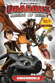 dragons riders berk underworld titan comics