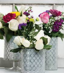 bulk silver vases decorative silver foil vases joann