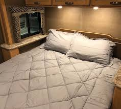 queen comforter rv bedding glacier gray alloy