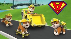 paw patrol italiano personaggi da cartone animato rubble ryder