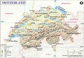 map of germany cities switzerland map map of switzerland