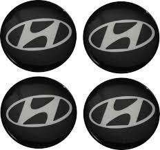 logo hyundai emblematy samochodowe na kołpaki logo hyundai 70 mm hurtownia