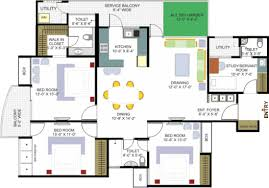 Free Easy Floor Plan Maker by Floor Designs For Houses Entrancing New House Plans And Designs