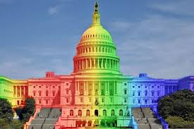 Pride Flag Colors Here Now A Petition To Paint The Capitol Building The Colors Of