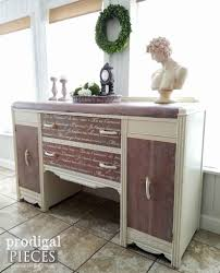 Art Deco Waterfall Nightstand Art Deco Waterfall Buffet With French Script Prodigal Pieces