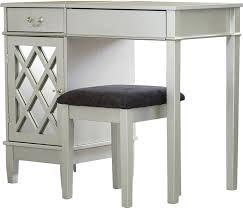 Stool For Desk 2 Piece Lynette Mirrored Vanity U0026 Stool Set U0026 Reviews Joss U0026 Main