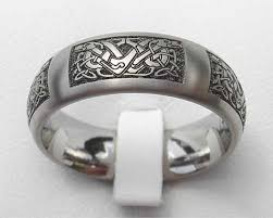 celtic rings wedding images Domed celtic dog titanium ring love2have in the uk jpg
