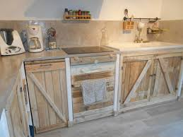 meuble cuisine palette meuble cuisine bois naturel beau mervéilléux meuble de cuisine en