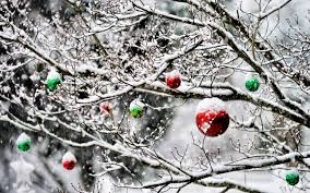 ornaments in the snow 4k hd desktop wallpaper for 4k