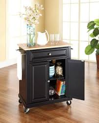 kitchen black portable kitchen island with towel bar benefits