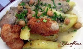 cuisine algerienne recette ramadan chou fleur en sauce blanche cuisine algerienne amour de cuisine